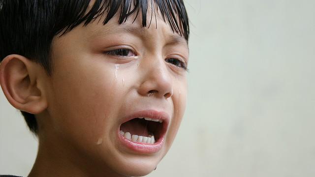 Crying Child by binum kumar, CC BY SA https://www.flickr.com/photos/binusarina/3889528397/